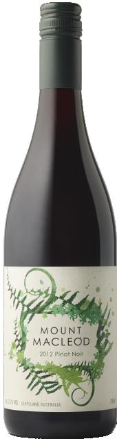 Mount Macleod Pinot Noir 2012 bottle shot
