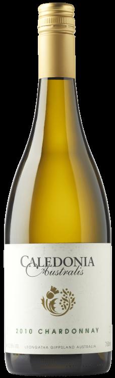 Caledonia Australis Chardonnay 2010 bottle shot clear